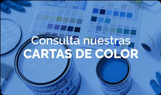 Pinturas - Carta de colores